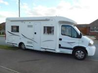 Renault Masters DCI140 CHAUSSON ALLEGRO 83 4 berth motorhome for sale