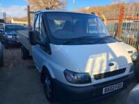 2002 Ford Transit TIPPER ONLY 81,000 MILES COMPLETE WITH M.O.T AND WARRANTY