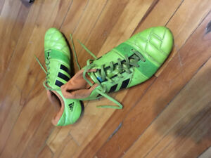 Used Outdoor Adidas Nitro Charge 3.0 Soccer Cleats
