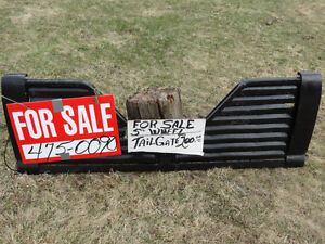 Louvered 5th Wheel Truck Tail Gate