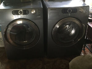 Samsung Front Loading washer and dryer. Stackable