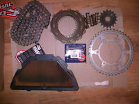 R1 - sprockets and chain etc