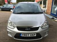 2007 Ford C-MAX 1.8 16v 125 Zetec + Full Service and Full MOT - 5ServiceStamps