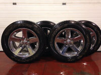 20 inch rims and tires from Dodge 1500