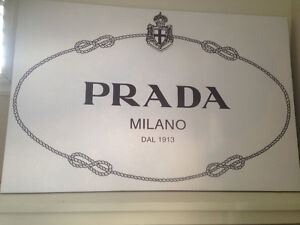 PRADA Wall Sign
