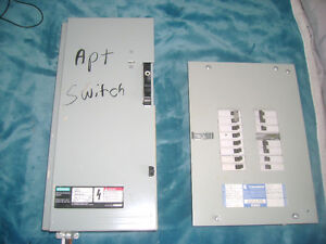 100A Service Entrance Switch/100A Commander Panel with breakers St. John's Newfoundland image 1