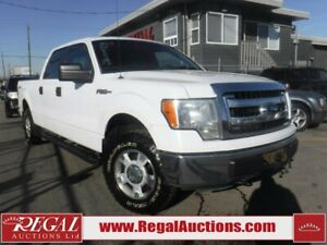 2013 Ford F150 XLT 4D SUPERCREW 4WD XLT