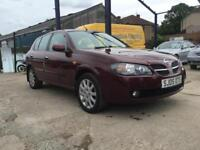 2005 Nissan Almera 1.5 SVE *sat nav and parking sensors*