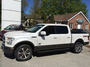 SOLD!!2016 Ford F-150 King Ranch Pickup Truck 4x4 crew 3.5 eco-b