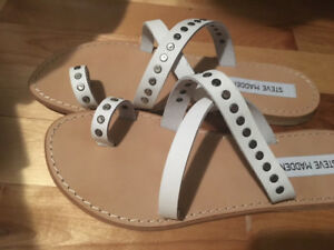 Leather Steve Madden Sandals - new in Box