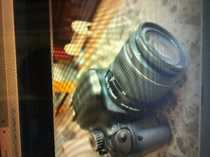 Canon t2i with 18-55 lens