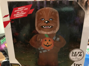 Chewbacca Halloween inflatable Brand New