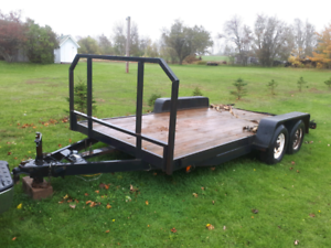 20ft equipment trailer