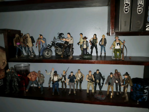 Walking Dead figure collection