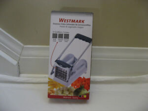 Westmark  French Fry Cutter with 3 Adjustable Blades-NEW