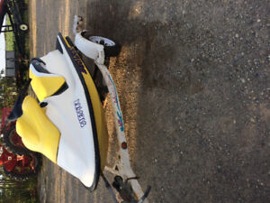 1997 Seadoo spx 800 with trailer