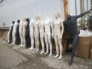 Mannequins,body parts,dress/bust forms (used&new) sales/rentals.
