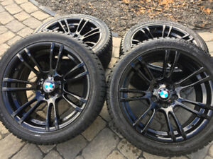 BMW OEM 270M Style Winter Wheel + Tire Package (FOR E9X M3 / M1)