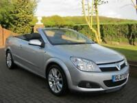 VAUXHALL ASTRA 1.8i DESIGN TWIN TOP CONVERTIBLE 2DR 2007 07
