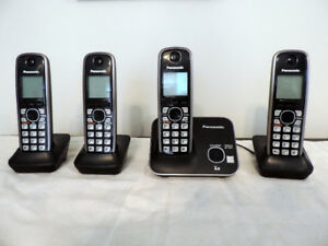 Panasonic 4-Handset Portable Phone