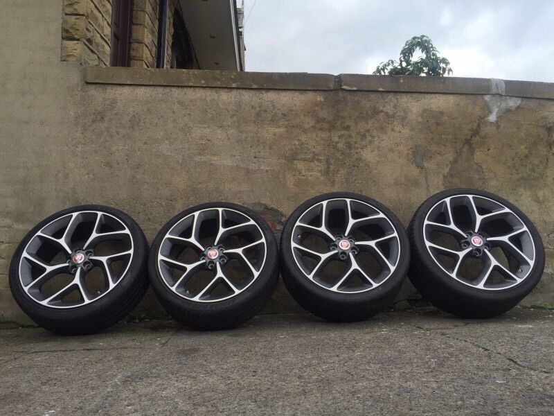 Genuine 20 Quot Jaguar Xf Alloy Wheels Amp Tyres 5x108 5x110 Xe In Dewsbury West Yorkshire Gumtree