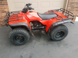Honda 300 4x4 fourtrax atv, quad, four wheeler