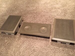3x PYLE IN WALL / CEILING SPEAKERS WITH GRILLES SPEAKER