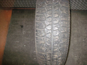 winter ack widetrack 215-65-15 used (one only