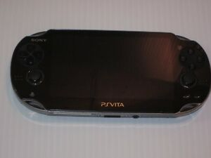*****SONY PLAYSTATION VITA PCH-1001 NOIRE A VENDRE / BLACK PS VITA FOR SALE*****