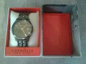 Stainless steel mens Caravelle watch! BRAND NEW