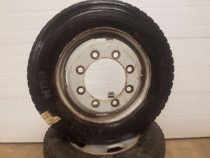Used Winter Tires on Dually Rims