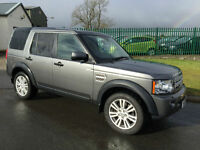 13 LAND ROVER DISCOVERY SDV6 AUTO 4X4 COMMERCIAL 1 OWNER 65000 MILES FSH