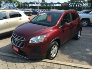 2016 Chevrolet Trax LT  - Certified -  Remote Start -  Bluetooth