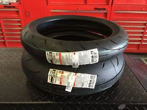 ★★★ NEW Dunlop Q3 Motorcycle Tires 180 / 120 Set - CHEAP!!! ★★★