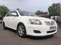 2008 TOYOTA AVENSIS 2.0 D-4D T2 * WHITE! *