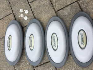 Jacuzzi J-300 Series Oval Pillow Insert and Back Mount x 4