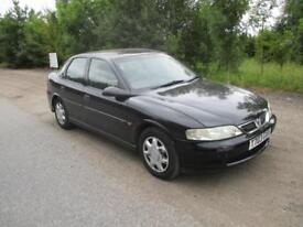 1999 Vauxhall Vectra 1.8i 16v LS Petrol Manual Saloon Black Rare MOT