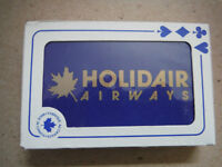 Holidair Airways  Playing cards sealed NEW Airline collectable