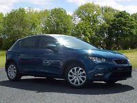 SEAT Leon 1.6 TDI SE 5dr (start/stop) (blue) 2014