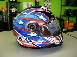 LS2 - Full Face Helmets - Patriot - NEW - All Sizes at RE-GEAR Kingston Kingston Area image 2