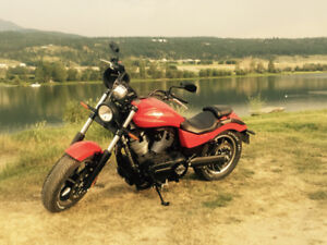 2014 Victory Judge/low mileage and over $2500. invested extras