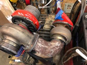 Compound turbos