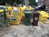 4 jumbo bags of Balast and 1 building sand BROMLEY