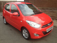 2011 (61) Hyundai i10 1.2 Active 5 Door Hatchback Petrol Manual