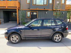 2008 BMW X3 for sale in Canmore!