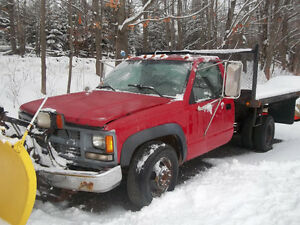 PARTING OUT 1994 K3500 DUALLY DUMP 4X4