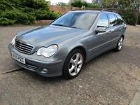55 Mercedes-Benz C220 Diesel 2.1TD Automatic Estate Avantgarde SE, 12 Month MOT