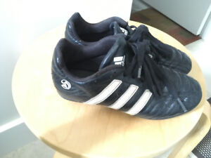 Kids Adidas soccer cleats size 2