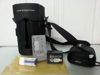 Sony Camcorder Carrycase w/ Accessories