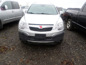 2009 SILVER SATURN VUE FOR PARTS